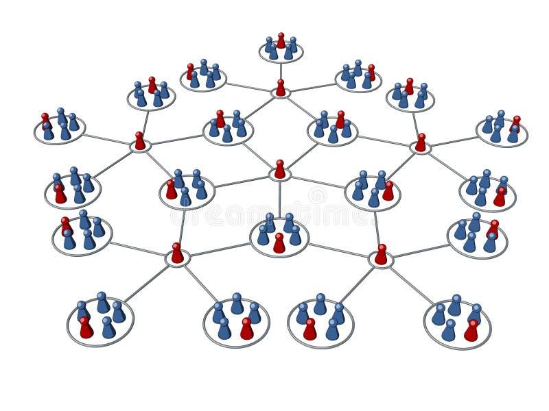 filii sieci program ilustracji