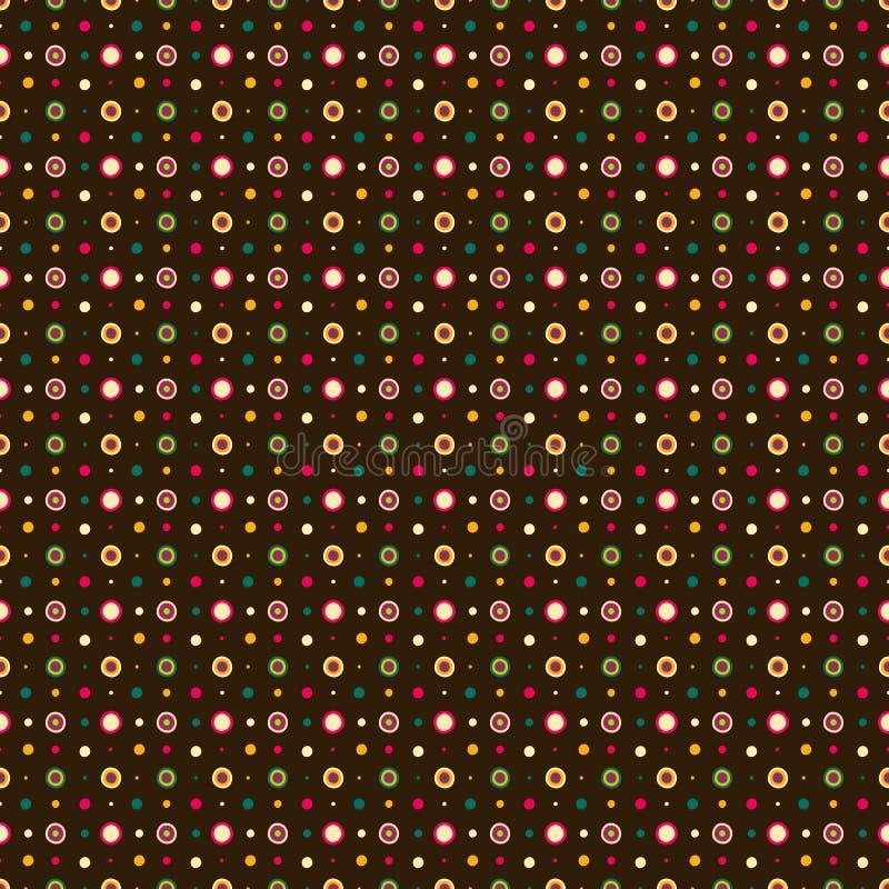 Filimonovo cirkelornament stock illustratie