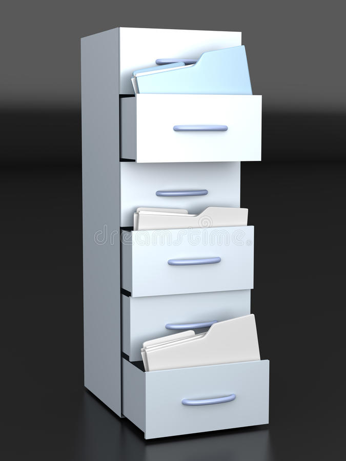 Filing Cabinet vector illustration