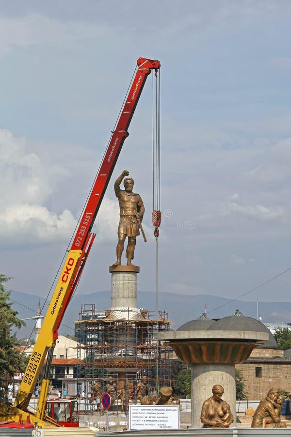 Filip II Statue stock image