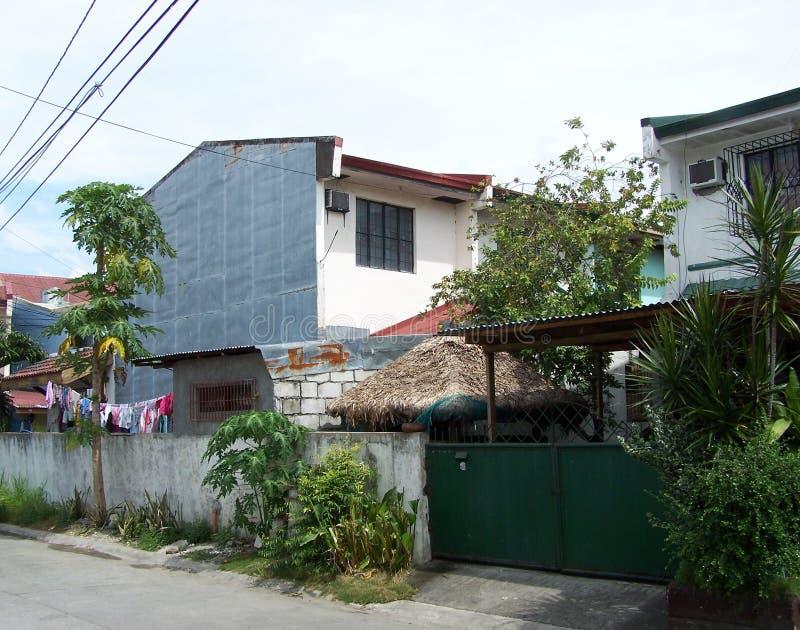 Filipińscy domy zdjęcie stock