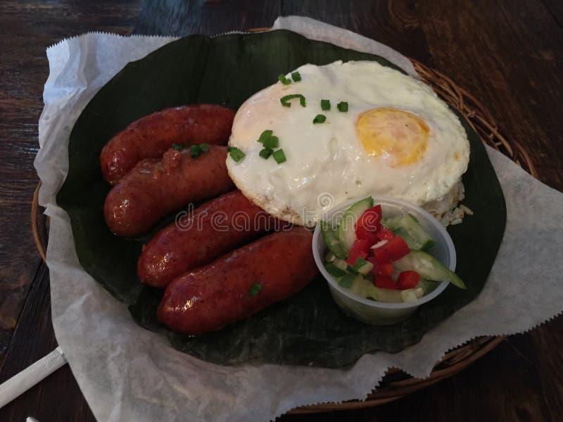 Filipiński jedzenie zdjęcie stock