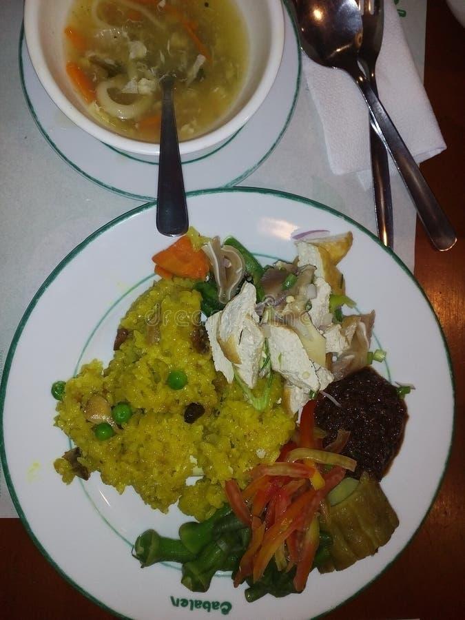 Filipiński jedzenie zdjęcia stock