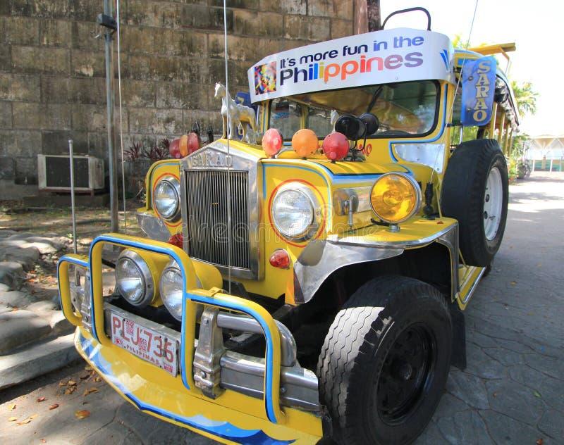 Filipiński Jeepney zdjęcia royalty free