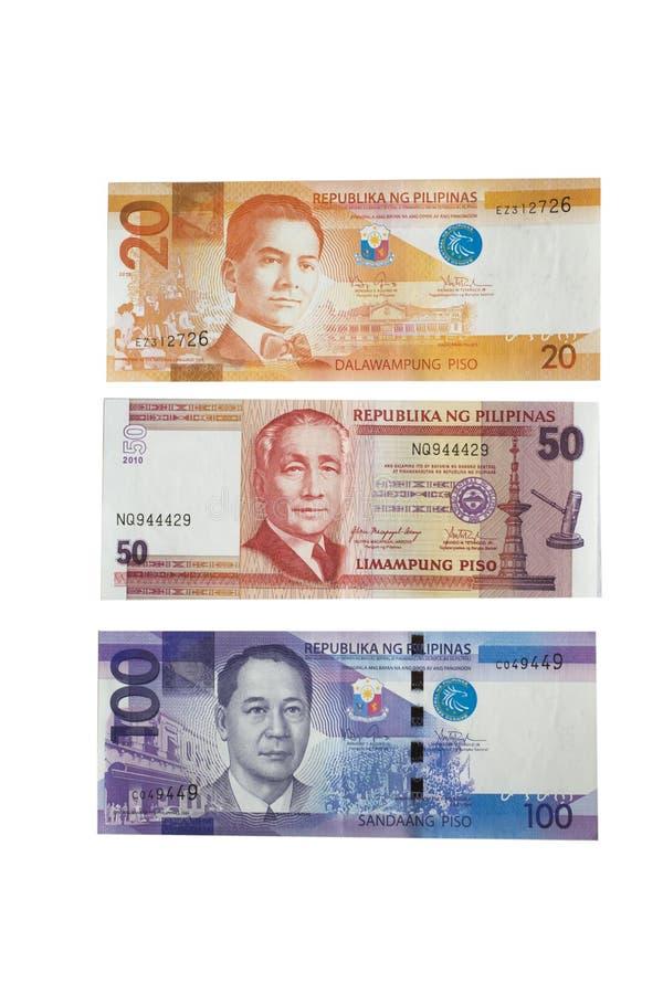 Filipińskiego peso waluta zdjęcie royalty free