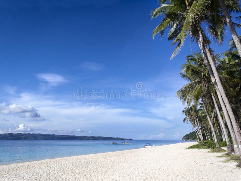 Filipijns strand royalty-vrije stock foto