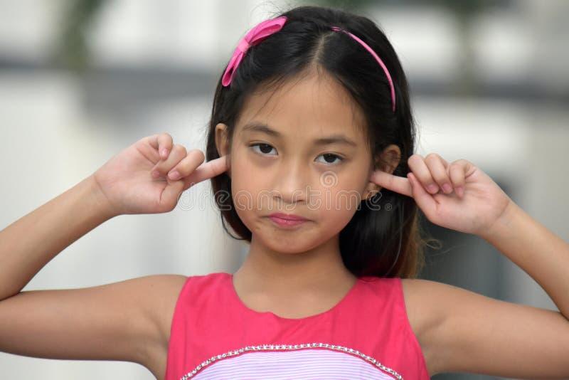 Filipina Adolescent And Silence joven fotos de archivo