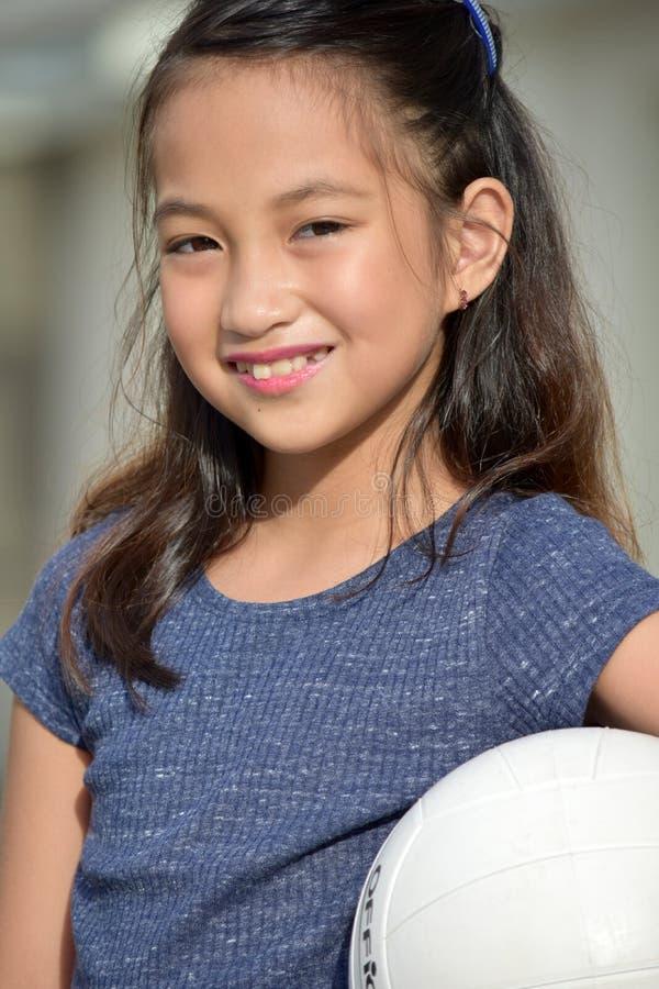 Filipina Female Athlete de sourire photos libres de droits