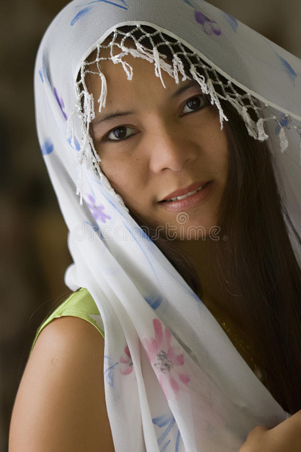 Download Filipina girl stock photo. Image of beauty, religion - 25048150