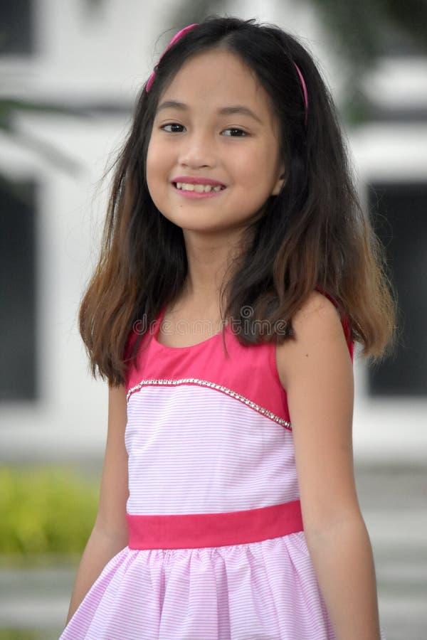 Filipina Girl And Happiness foto de archivo libre de regalías