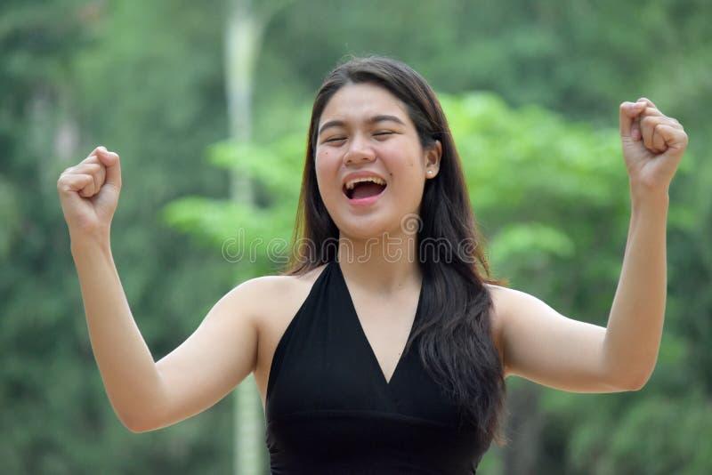 Filipina Person joven fuerte fotografía de archivo