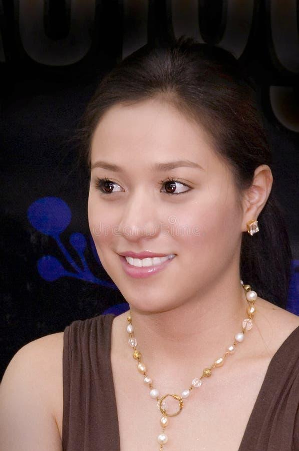 filipina Reyes cristine ηθοποιών στοκ φωτογραφία με δικαίωμα ελεύθερης χρήσης
