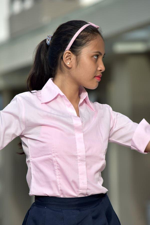 Filipina Youth de levantamento foto de stock royalty free