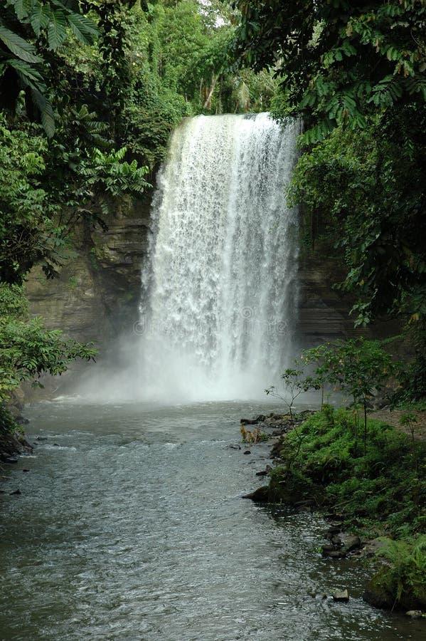 Filipinas, lago Sebu, 7Falls. no1 fotografía de archivo libre de regalías