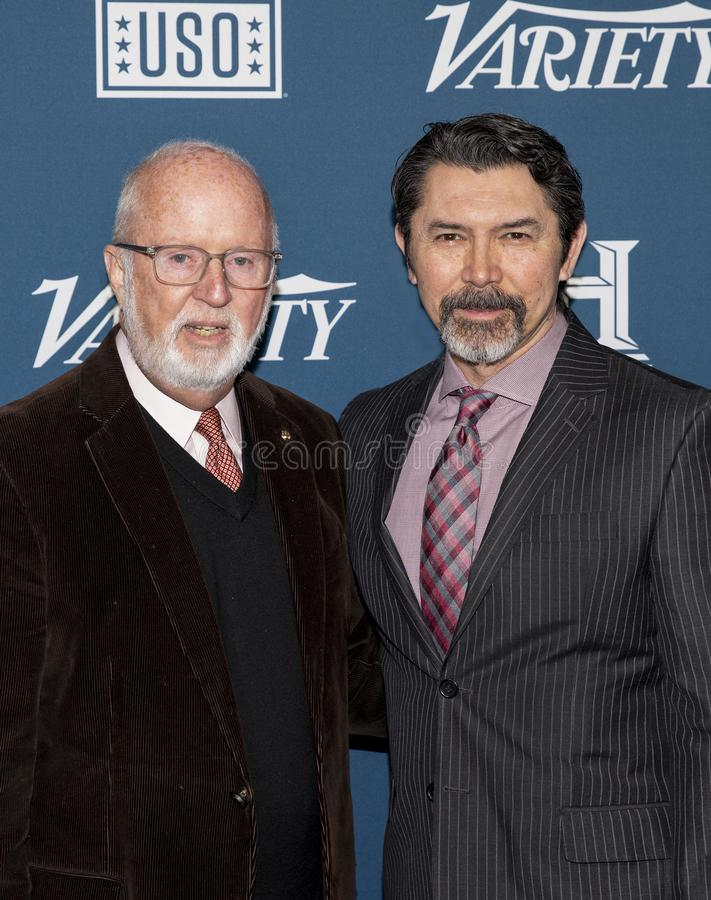 Lou Diamond Phillips at the Variety 3rd Annual Salute to Service stock image