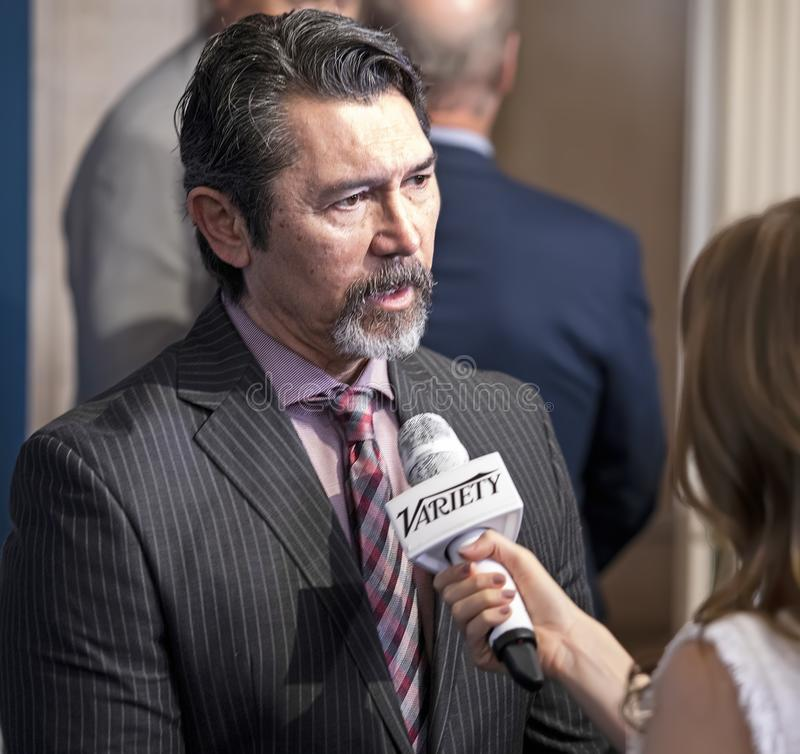 Lou Diamond Phillips at Variety 3rd Annual Salute to Service Event stock photos