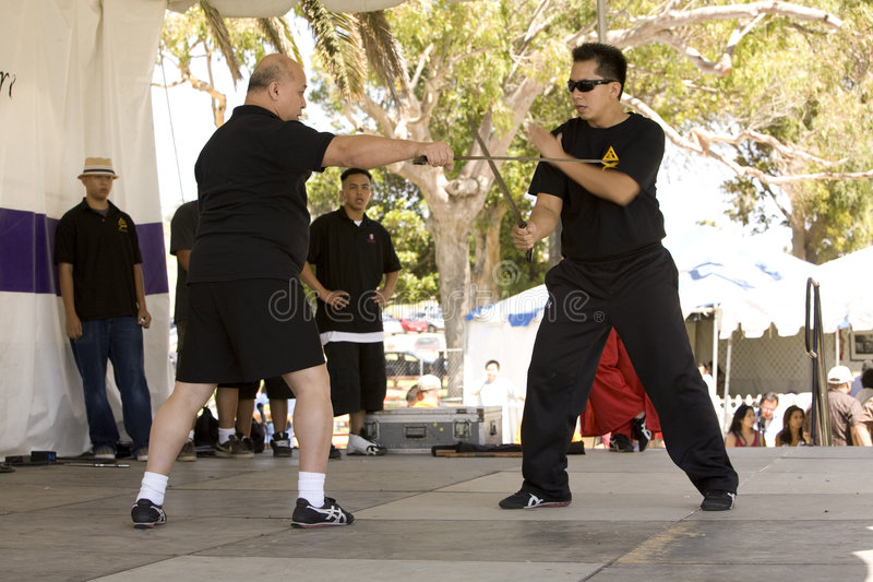 Download Filipino Martial Arts Demonstration 9 Editorial Photography - Image: 4786072