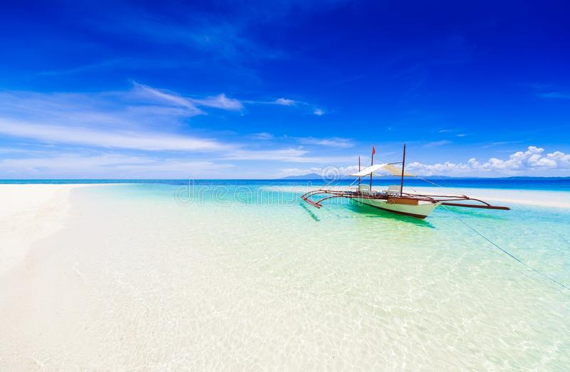 Filipiny, tropikalny dennej łodzi dzień! fotografia stock