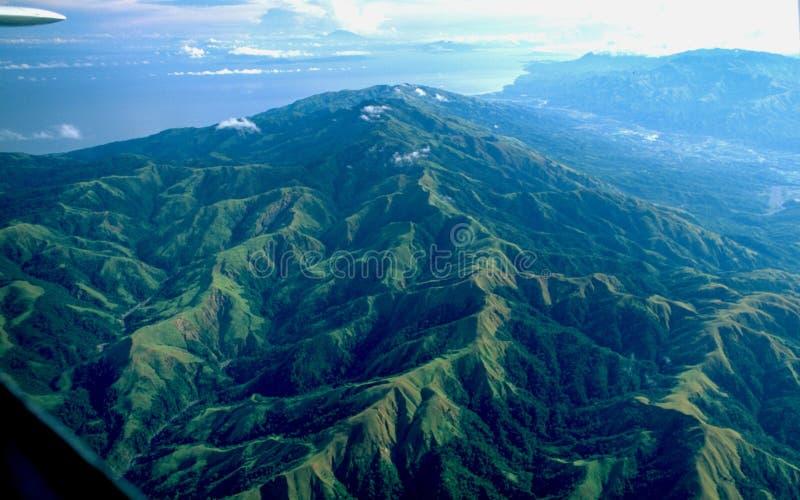 Filippijnen: Antenne van het berg-landschap van Palawan ` s royalty-vrije stock foto