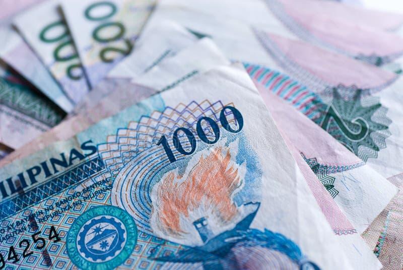 Filippijnse Bankbiljetten royalty-vrije stock afbeelding