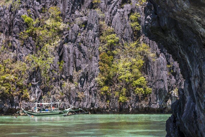 Filippine, EL Nido fotografia stock