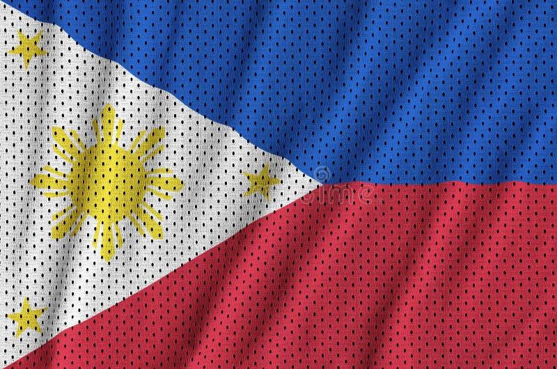 Filippinerna sjunker utskrivavet på en fa för ingrepp för polyesternylonsportswear fotografering för bildbyråer