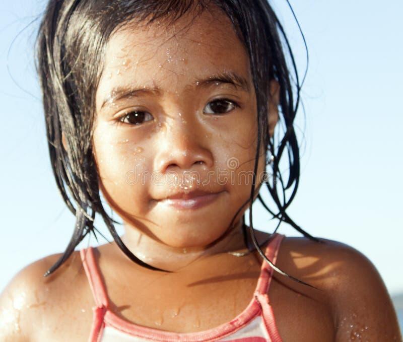 Filippinernaflicka arkivbilder