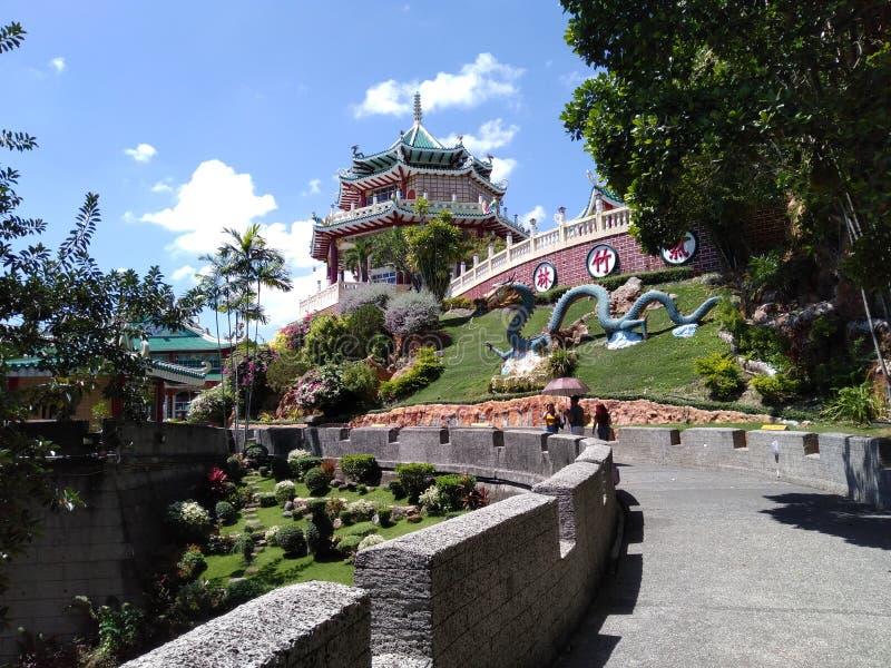 Filippinernas taoistiska tempel arkivfoton