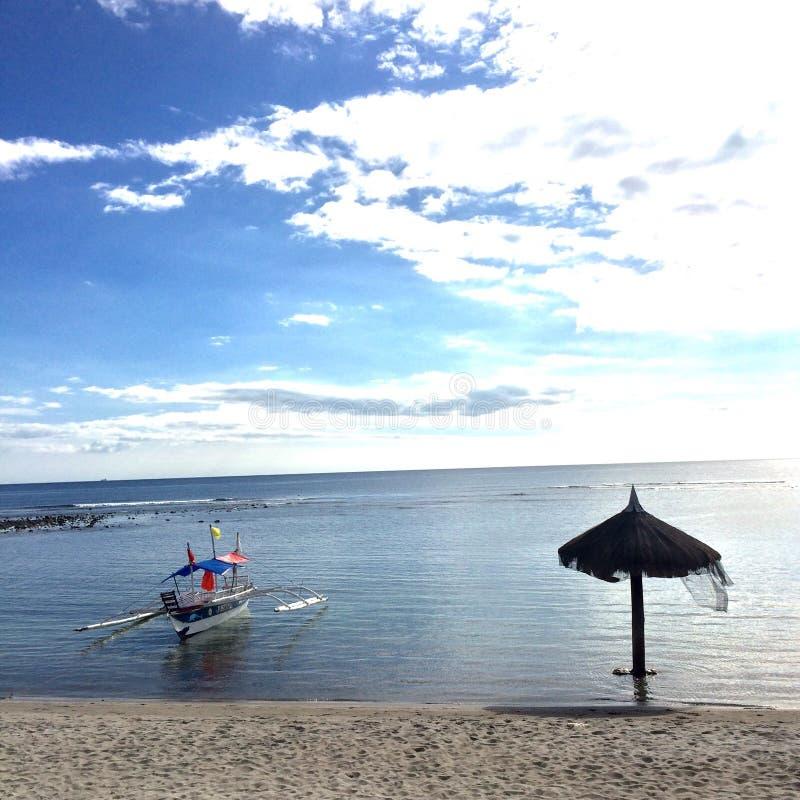 Filippinernastrand arkivfoto