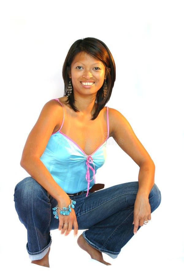 filippinsk kvinna royaltyfri bild