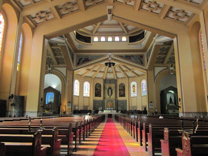 Filippinsk kyrka royaltyfri fotografi