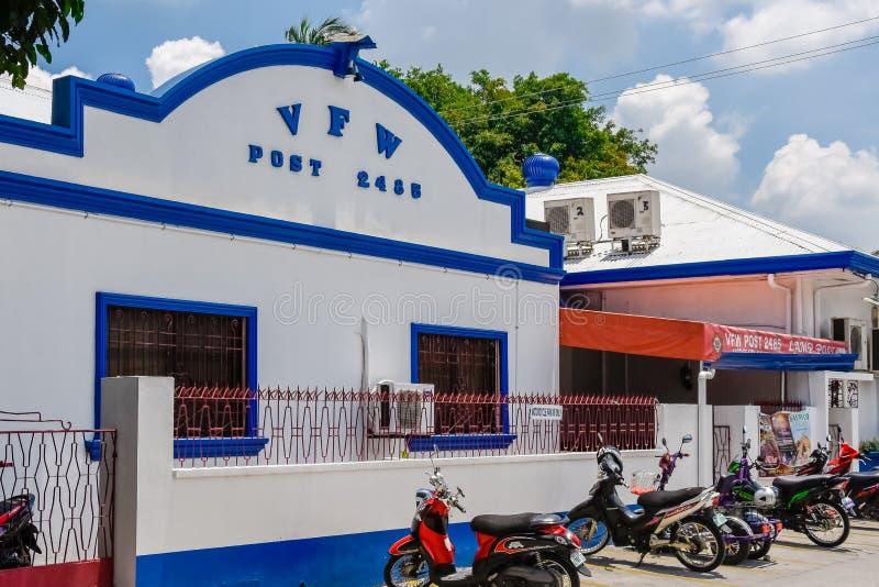 Filippinsk VFW Hall royaltyfria bilder