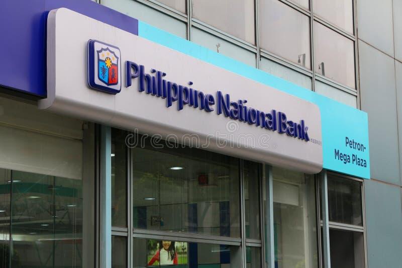 Filippinska National Bank arkivfoton