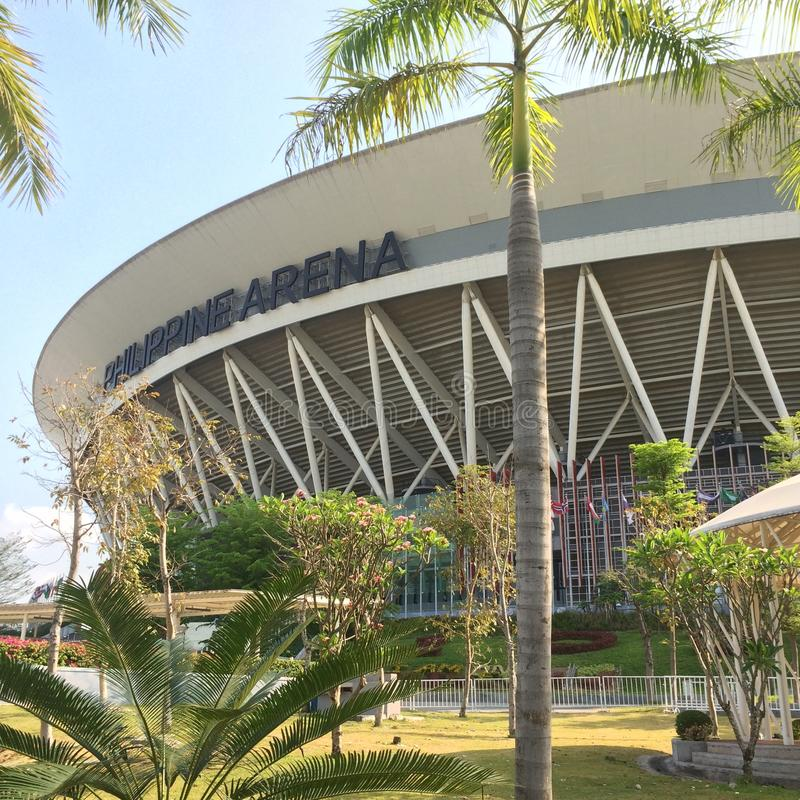 Filippinskt arenadagsljus arkivfoto