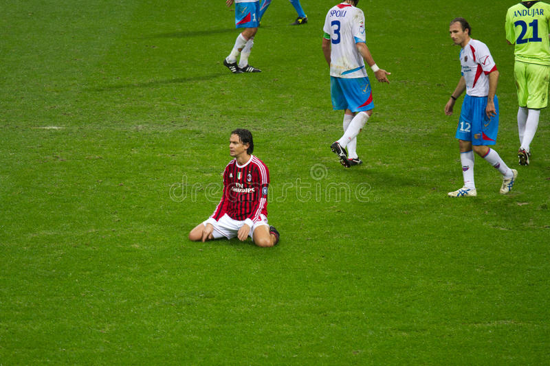Download Filippo Inzaghi editorial stock photo. Image of club - 21917163