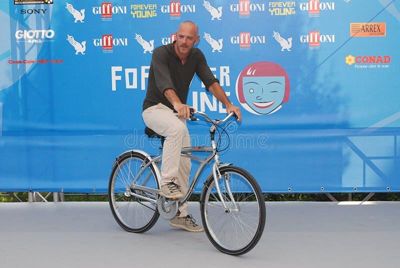 Filippo Nigro al Giffoni Ekranowy festiwal 2013 zdjęcia royalty free