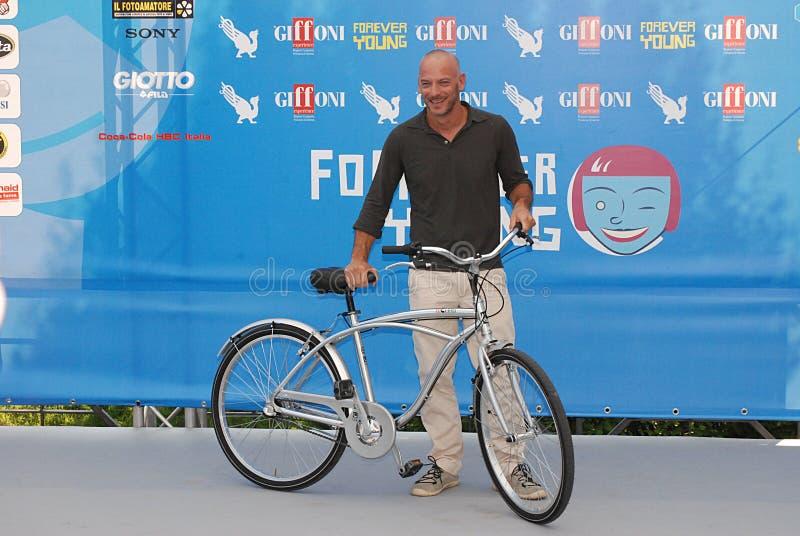 Filippo Nigro al Giffoni Ekranowy festiwal 2013 obrazy royalty free