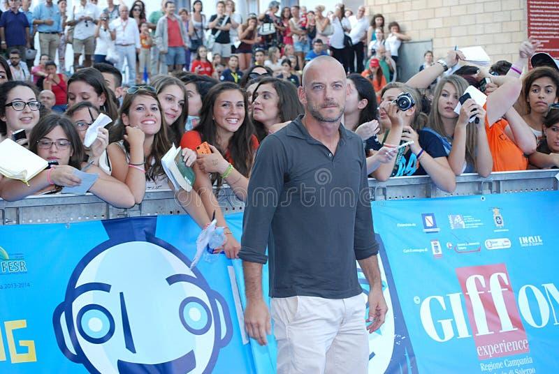 Filippo Nigro al Giffoni Ekranowy festiwal 2013 zdjęcie royalty free