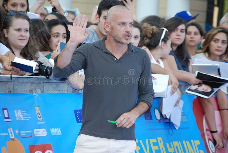 Filippo Nigro al Giffoni Film Festival 2013 images stock