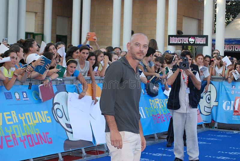 Filippo Nigro al Giffoni Film Festival 2013 image stock