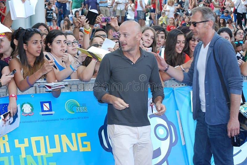 Filippo Nigro al Giffoni Film Festival 2013 photos stock