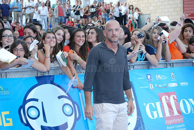 Filippo Nigro al Giffoni Film Festival 2013 photo libre de droits