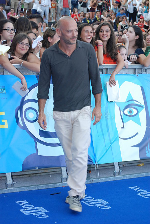 Filippo Nigro al Giffoni Film Festival 2013 foto de archivo