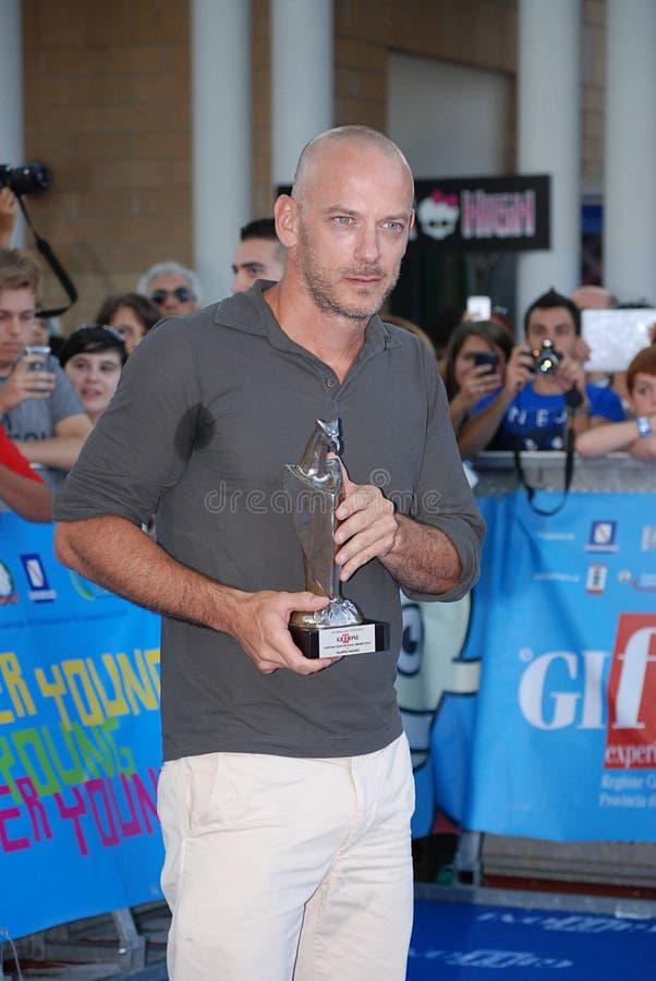 Filippo Nigro al Giffoni Film Festival 2013 fotos de archivo