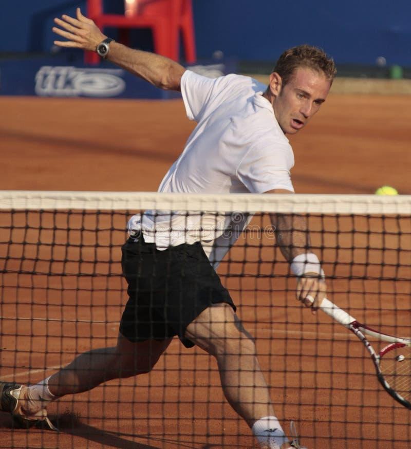 Filippo Volandri: ATP Challenger KOS 2008 royalty free stock photos