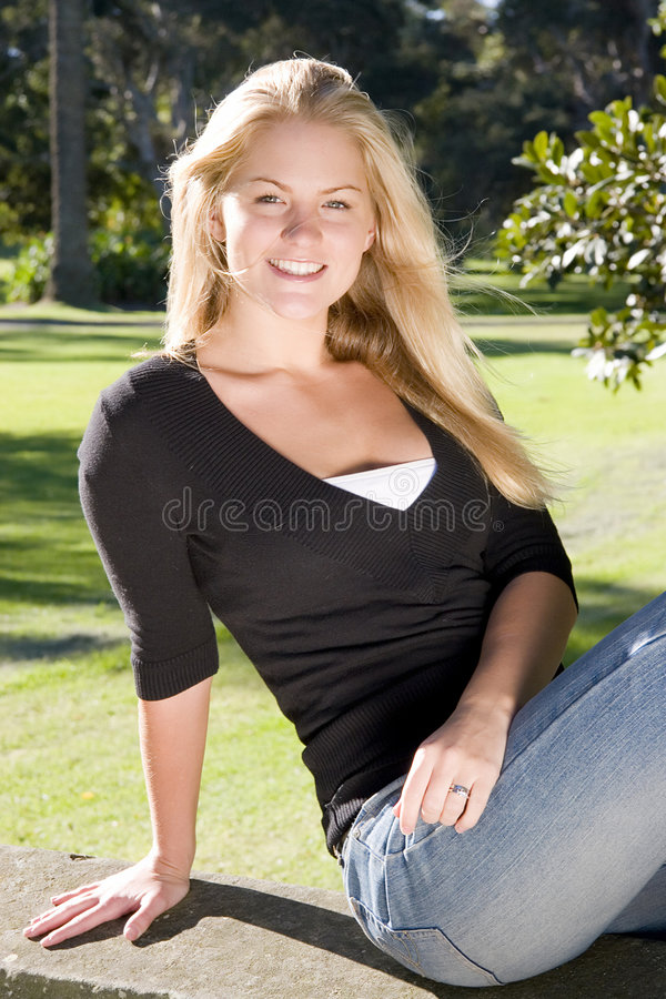 Fille image stock