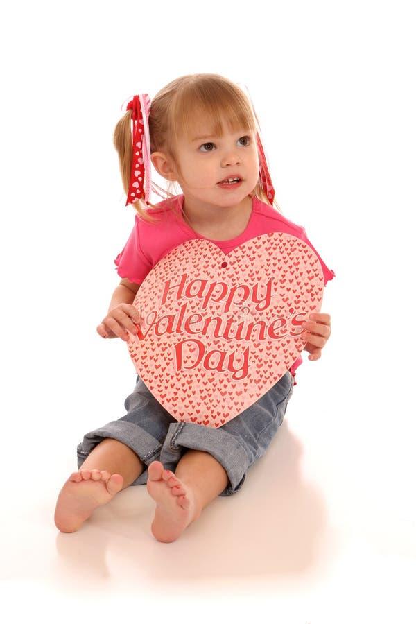 Fille 4 de Valentine images stock