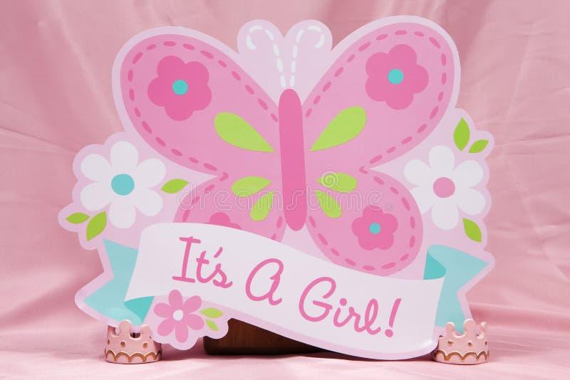 Download Fille ! photo stock. Image du enfant, nouveau, rose, naissance - 77154282