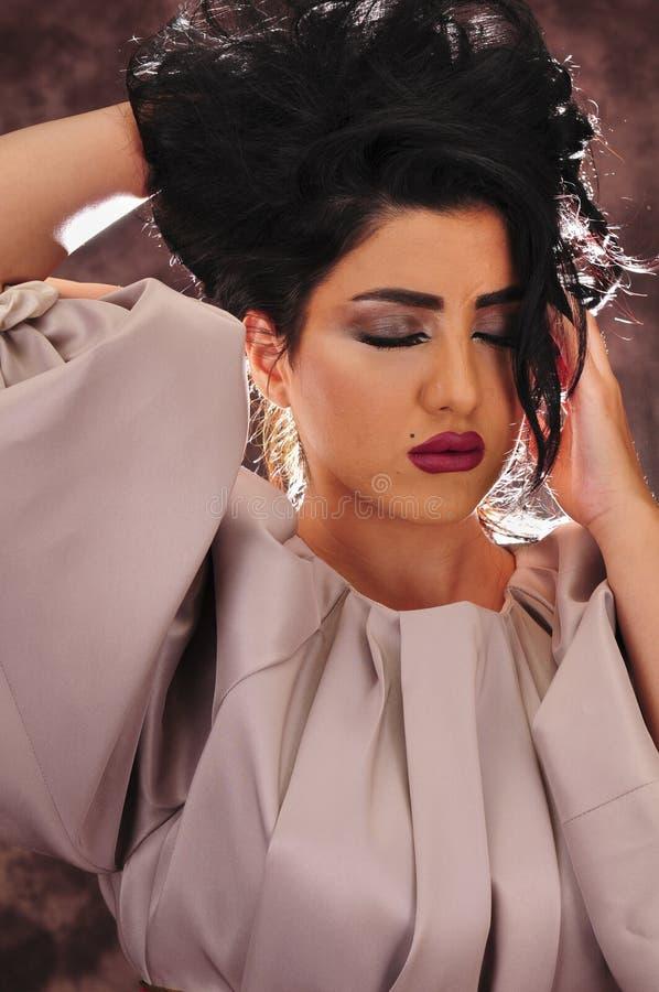 Fille arabe photo stock