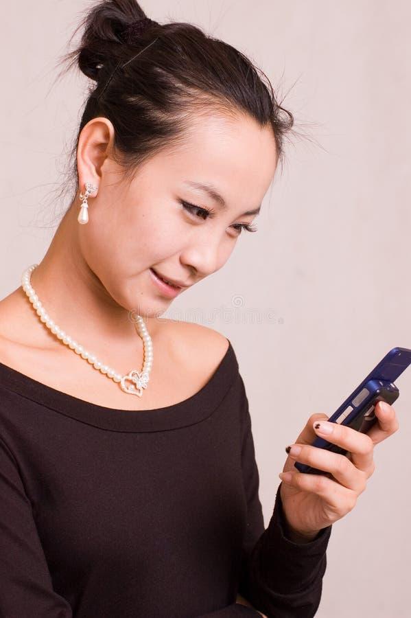 fille asiatique image libre de droits